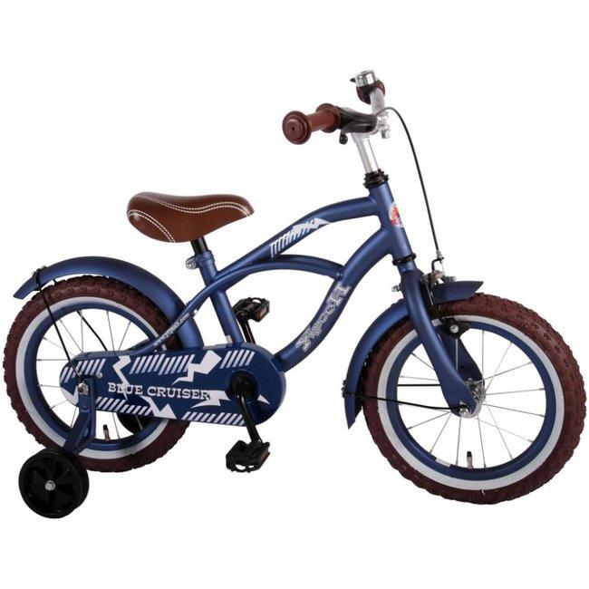 Volare Blue Cruiser 51401 Jongensfiets Kinderfiets 14 Inch