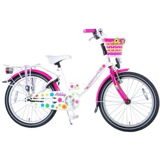 Volare Volare Ashley Wit 82006 Meisjesfiets Kinderfiets 20 Inch
