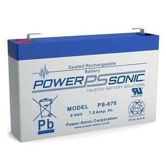 Powersonic Powersonic 6 Volt 7Ah Accu Kinderauto