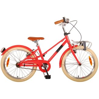 Volare Volare Melody Rood Meisjesfiets 20 Inch 2x Handrem 22072