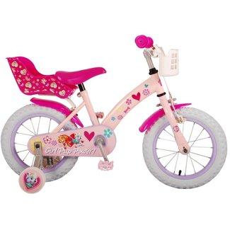 Volare Paw Patrol Roze Meisjesfiets Kinderfiets 14 Inch 21451-CH