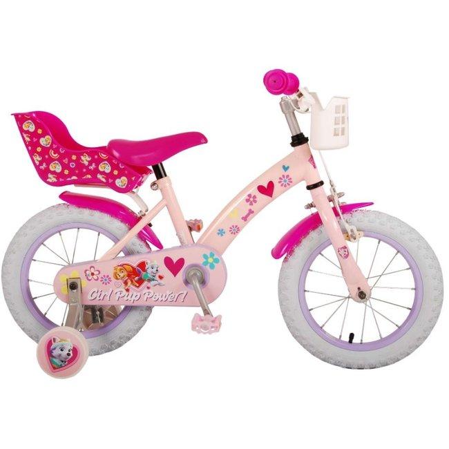 Paw Patrol Roze Meisjesfiets Kinderfiets 14 Inch 21451-CH