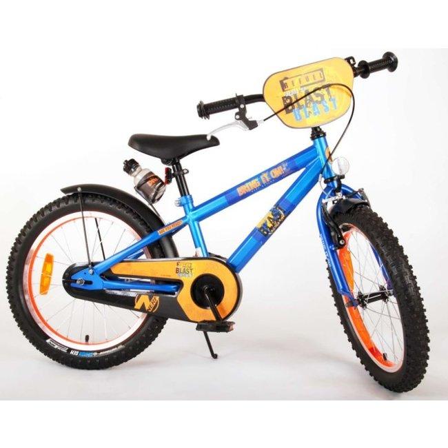 Hasbro Nerf Satijn Blauw Kinderfiets Jongensfiets 18 Inch 21875