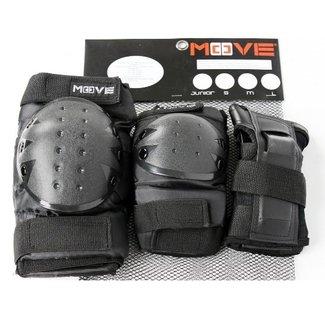 Move Move Beschermset Unisex Junior Kind Zwart 2600000