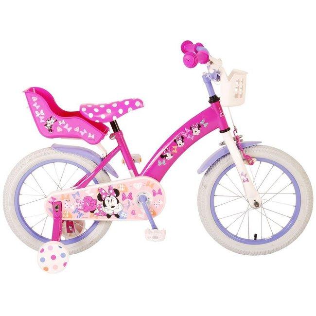 Disney Minnie Cutest Ever Roze Kinderfiets Meisjesfiets 16 Inch 21636-CH