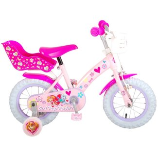 Volare Paw Patrol Roze Meisjesfiets Kinderfiets 12 Inch 21251-CH
