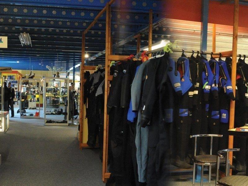 binnen duikwinkel lucas divesport