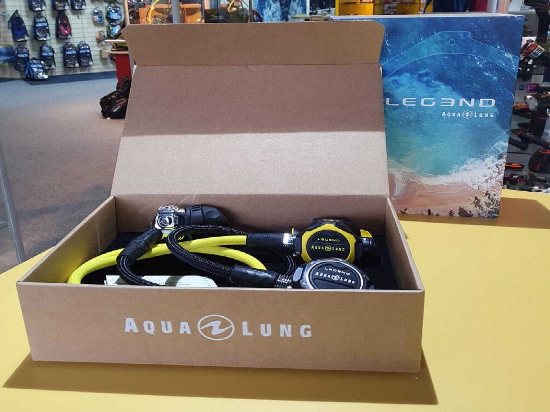 aqualung legend series in box