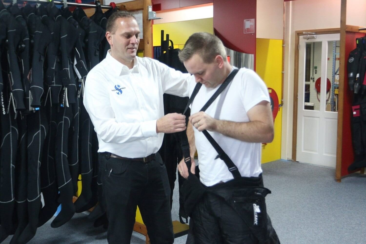 Under suits for dry suits-1