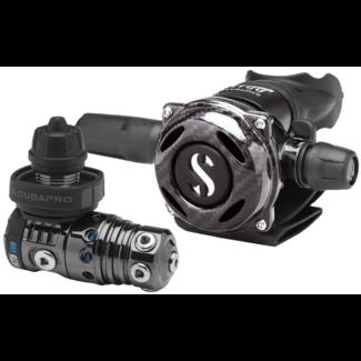 Scubapro MK25 EVO A700 Carbon Black Tech