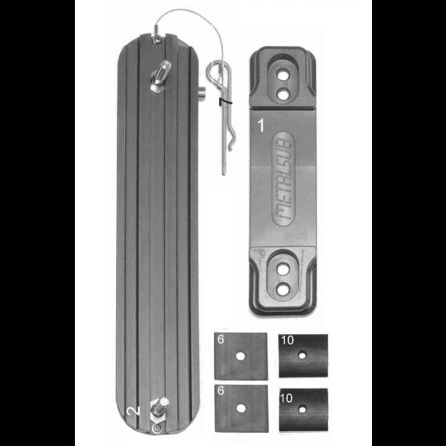 Metalsub Backpack Holder en Blok Plate