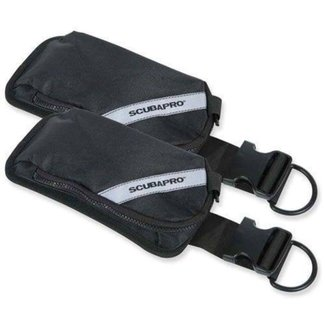 Scubapro Weight Pocket Kit X-one, Go, Bella, Glide, Equator, Seahawk, Hydros pro pair