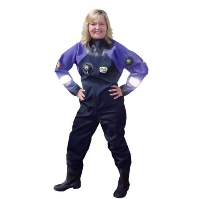 Otter Dry Suits Skin Vrouwen