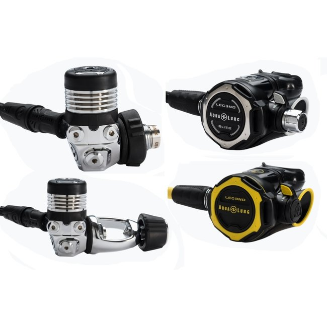 Aqualung Leg3nd Elite Set Including Pressure Gauge and Bag