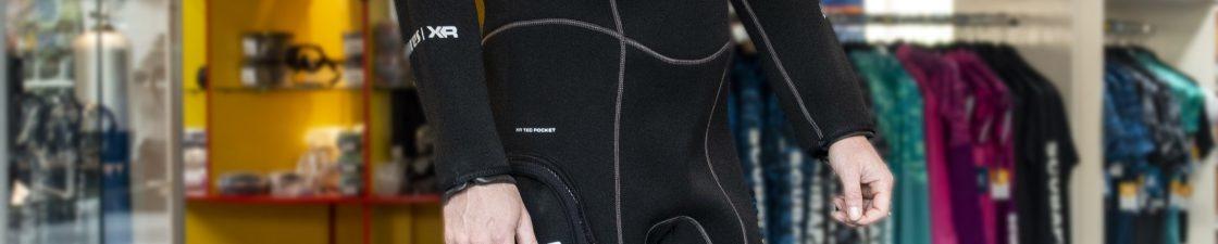 Nieuw droogpak: Mares XR3 Neoprene Latex