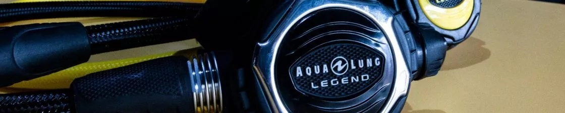 Aqualung Legend serie ademautomaten