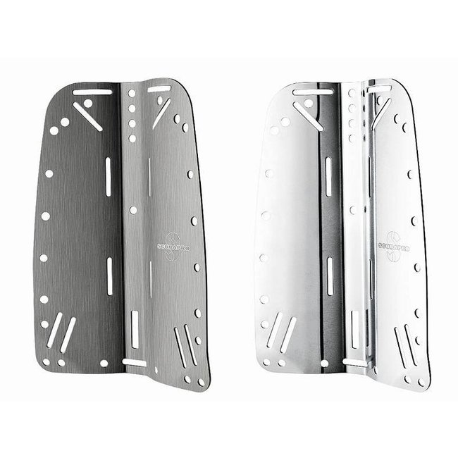 Scubapro X-Tek Backplate Stainless Steel or Aluminium