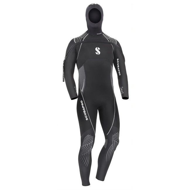 Scubapro Definition 7MM Hooded With Front Zip Male