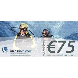 Lucas Waardebon € 75