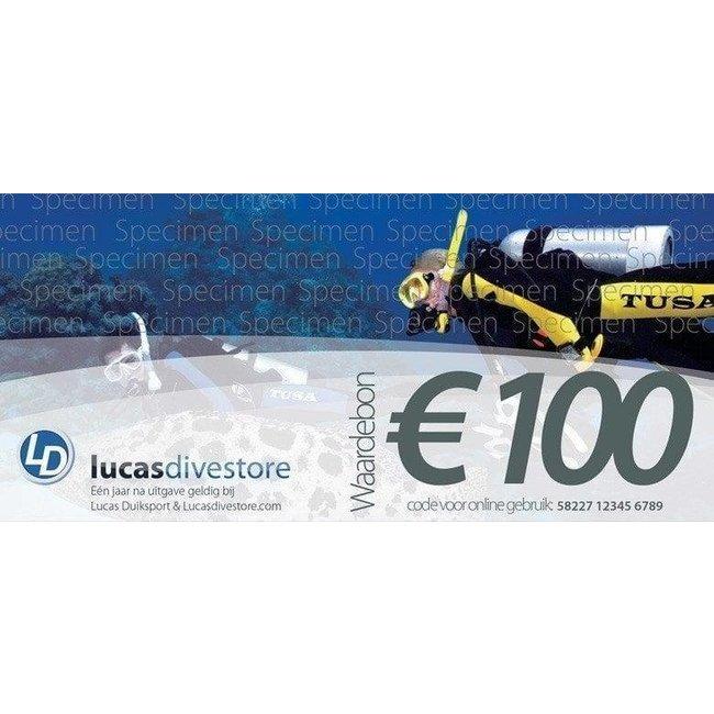 Lucas Waardebon € 100