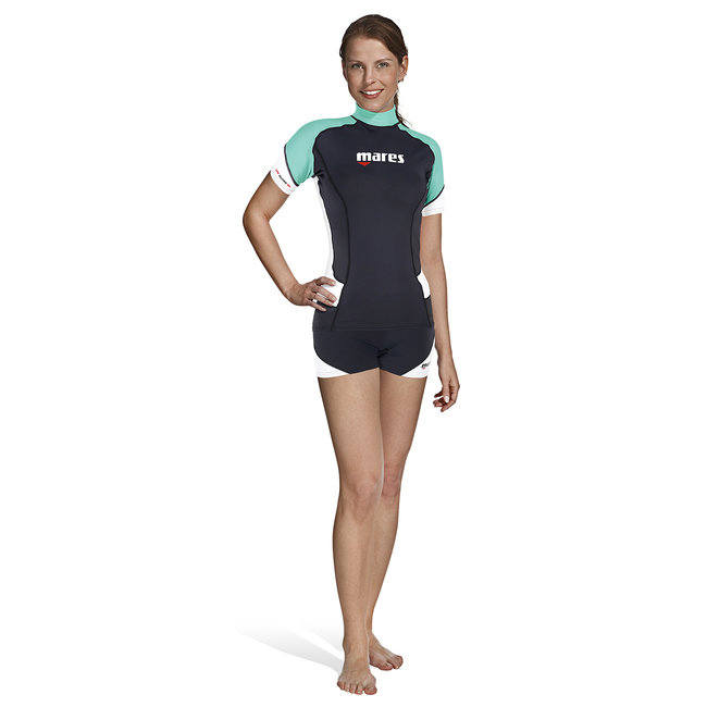 Mares Rash Guard Short Sleeve Female