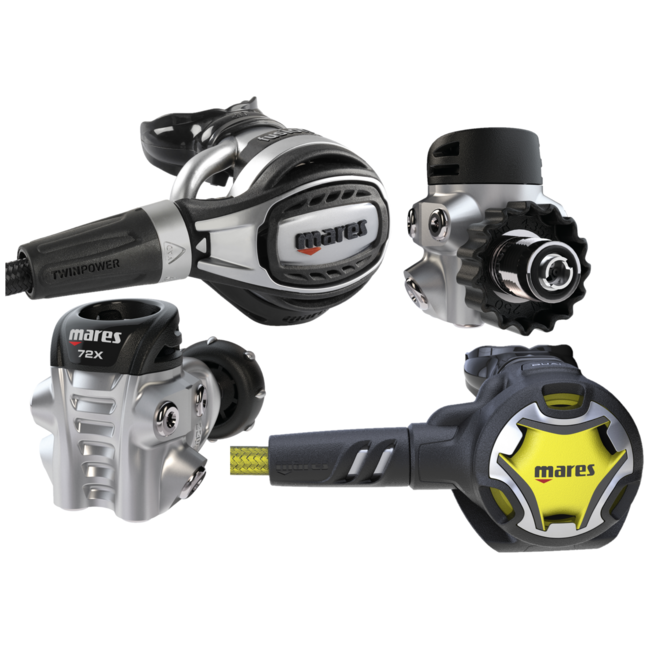Mares Fusion 72X Dual Set