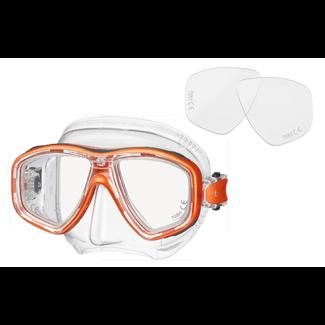 Tusa Ceos Positive Glasses Clear Silicone