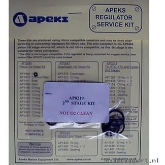 Apeks Service Kit AP0219 Tweede Trap