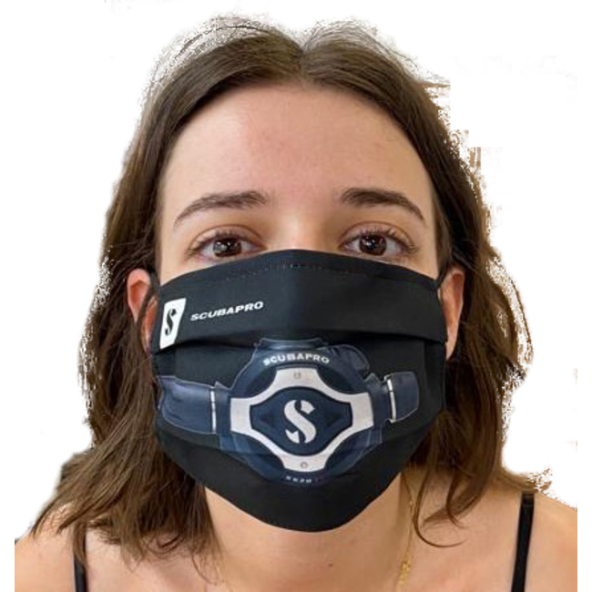 Scubapro Protective Face Mask Corona/Covid19 S620 Ti