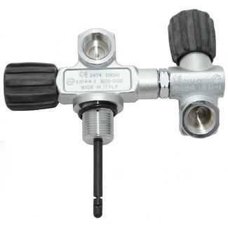 Rydec DIN H-valve righthanded