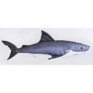 Gaby Fish Pillows Great White Shark