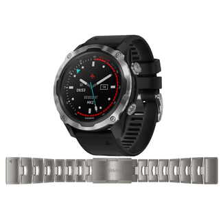 Garmin Descent MK2 with Titanium Strap set