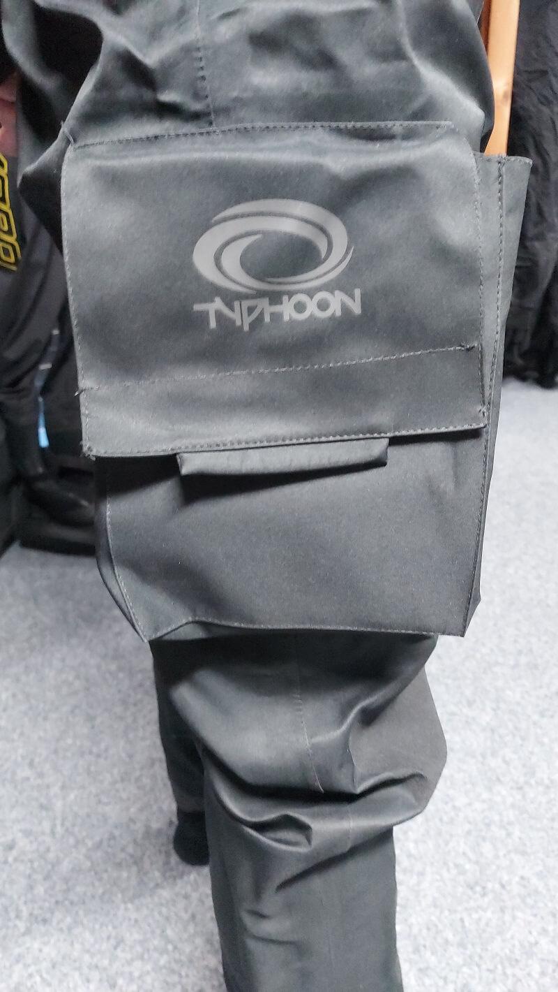 pocket typhoon spectre dry suit