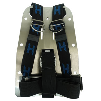 Halcyon Stainless Steel Backplate with Harness