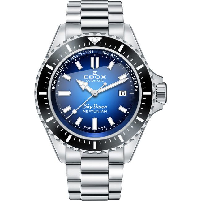 Edox Skydiver Neptunian Automatic 80120 3NM BUIDN