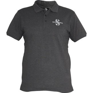 Scubapro Polo Shirt Dark Grey Male