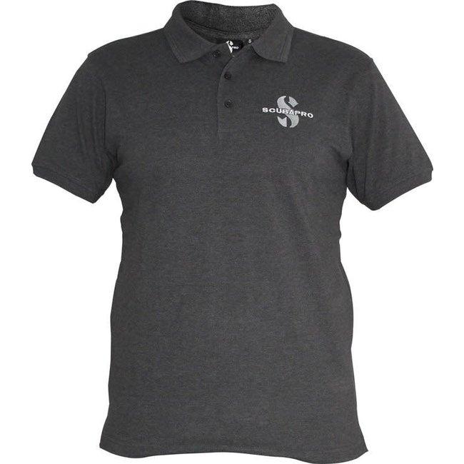 Scubapro Polo Shirt Donkergrijs Heren