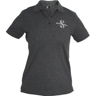 Scubapro Polo Shirt Dark Grey Female