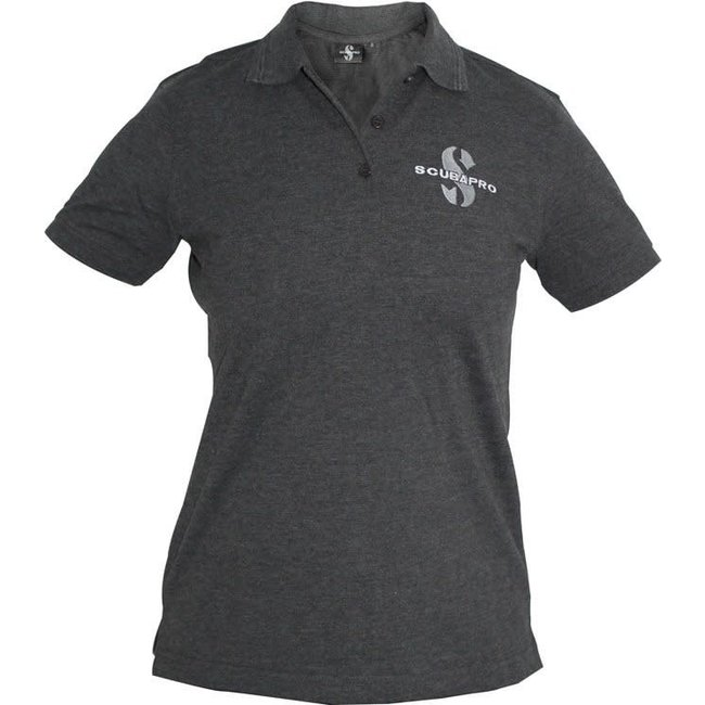 Scubapro Polo Shirt Donkergrijs Dames