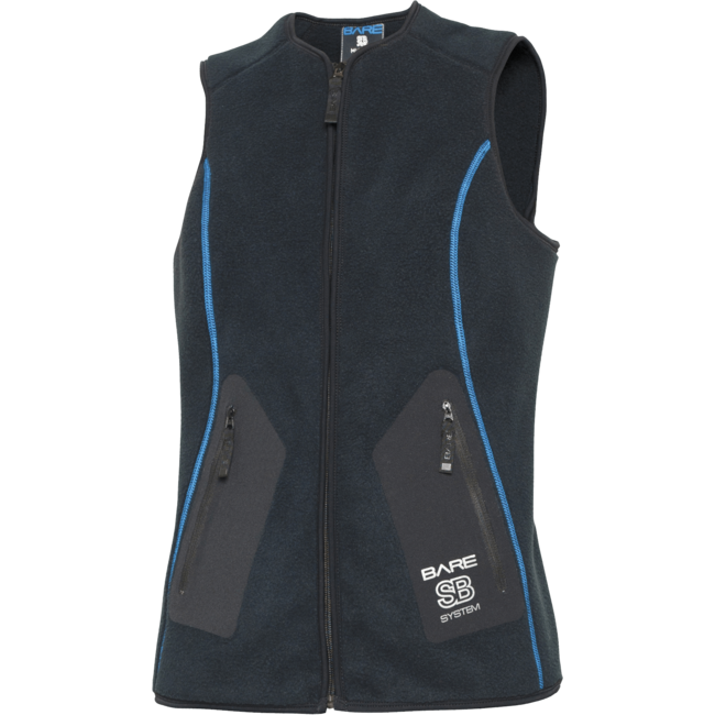 Bare SB SYSTEM MID LAYER VEST - Womens