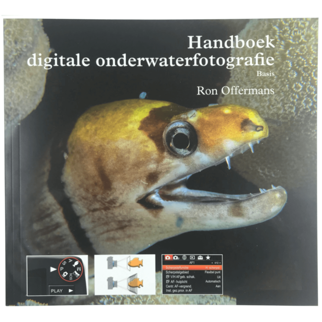 Lucas Handboek digitale onderwaterfotografie basis door Ron Offermans