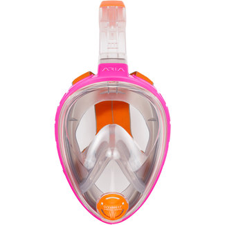 OceanReef Aria Full Face Snorkel Mask Pink Size XS