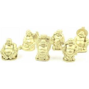Mini boeddha goud 3 cm