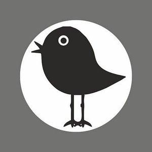 Sticker vogeltje (5 stickers op een velletje) | eenbeetjegeluk.nl