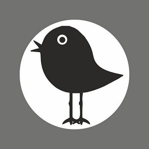 Sticker vogeltje