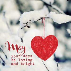 May your days be loving and bright - kaart