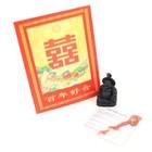 Chinees gelukszakje met boeddha en uitlegje