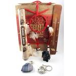 Cadeaupakket met symbolische kado's