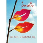 Kaart Smile and have a wonderful day