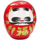 Rode Daruma - 8 cm hoog